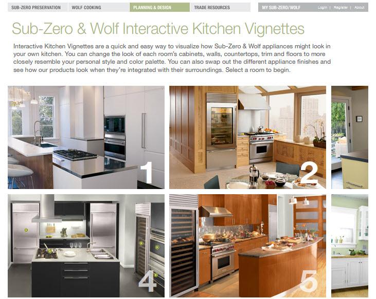 Interactive kitchen planners kitchen design photos for Interactive kitchen design